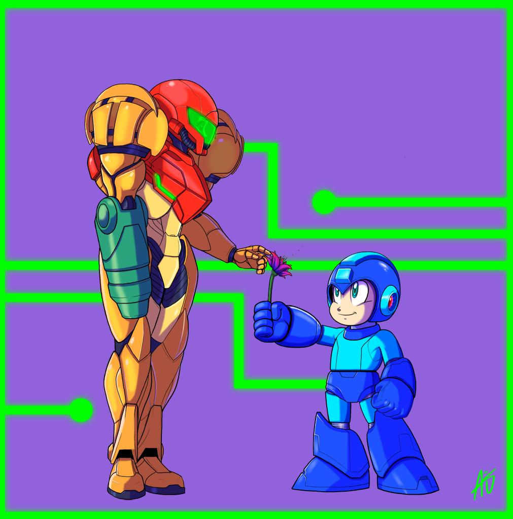 Mega Metroid Smash Up