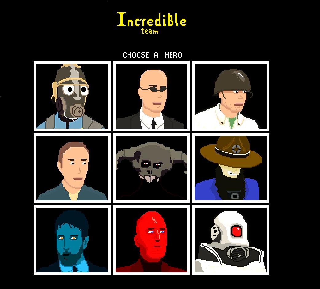 Incredible Team Avatars