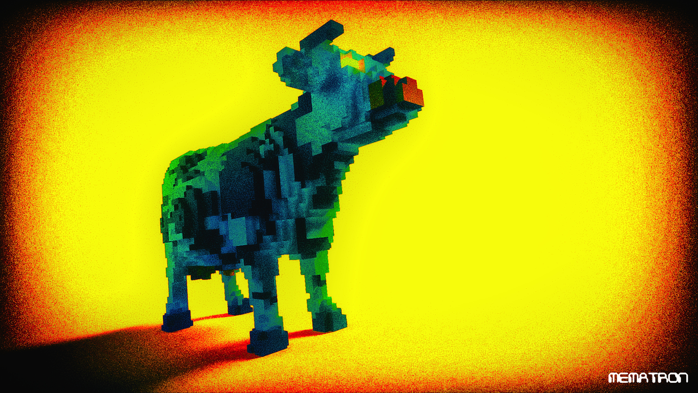 Untitled evil cow