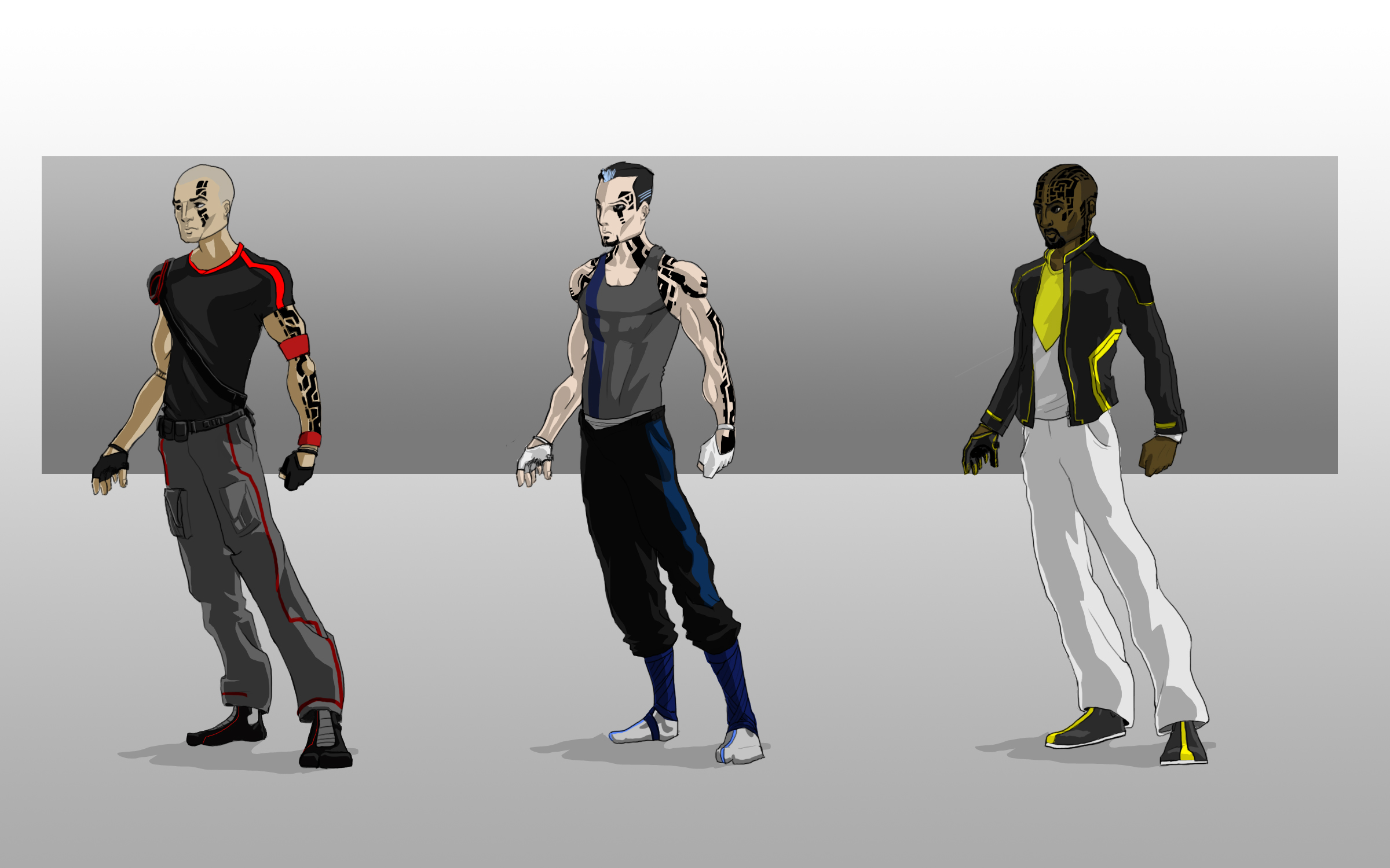 Mirror's Edge Runner Concepts
