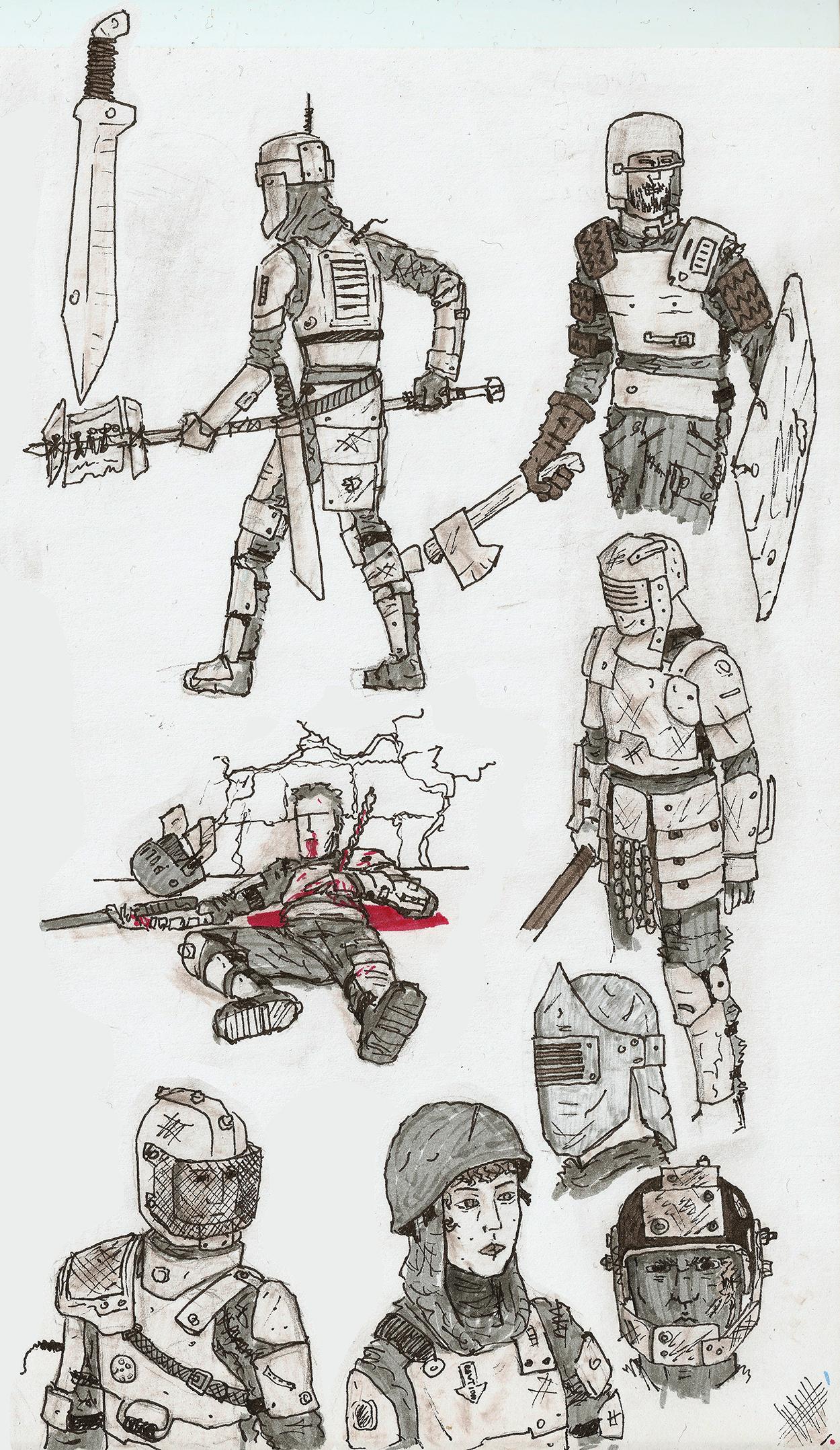 Junk Soldiers