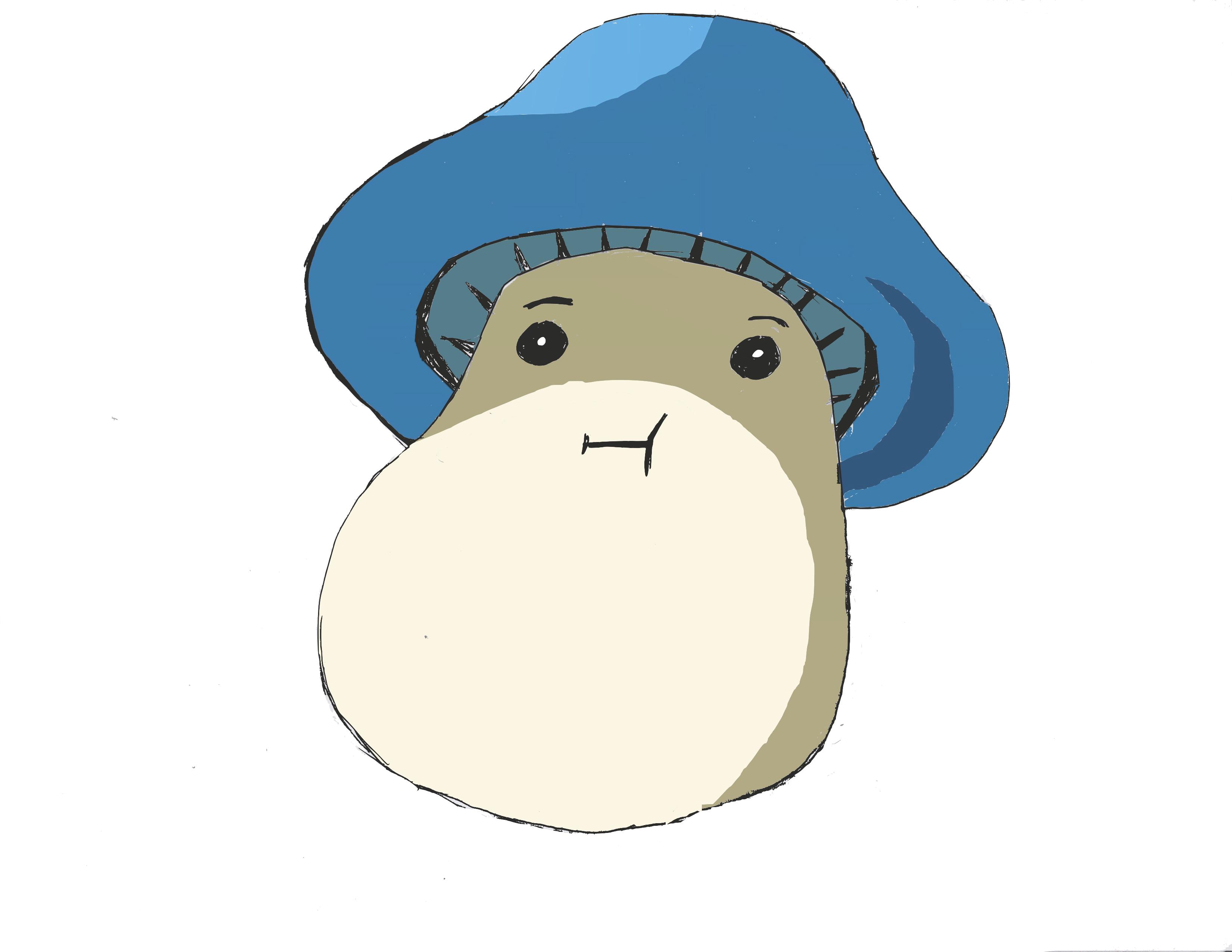 Blue Maple Story Mushroom