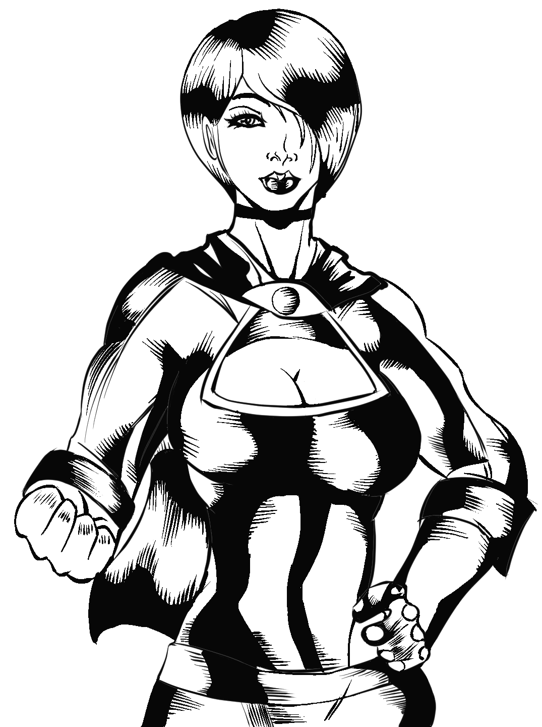 Some woman ink
