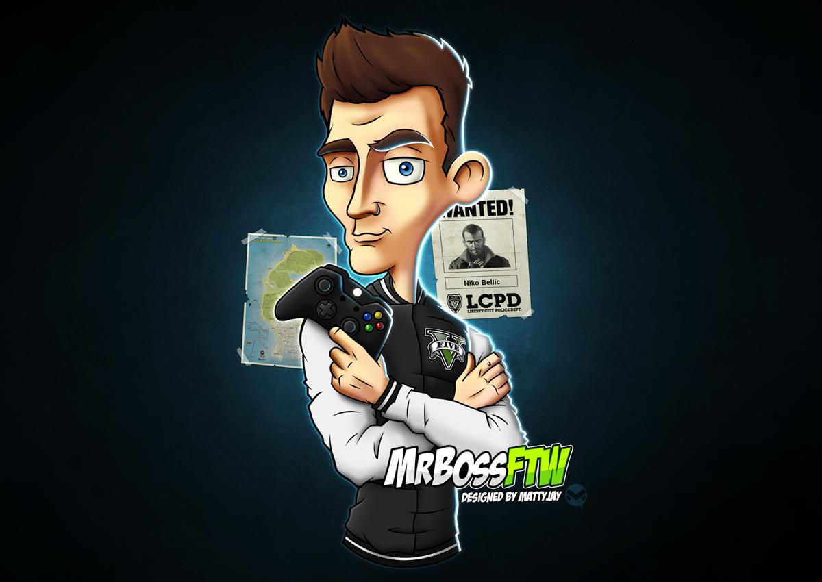 MrBossFTW Character Design