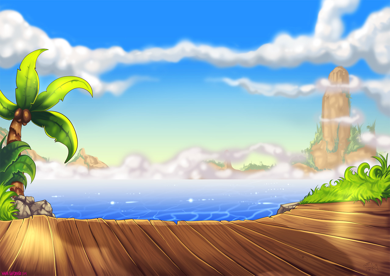 Shantae Background