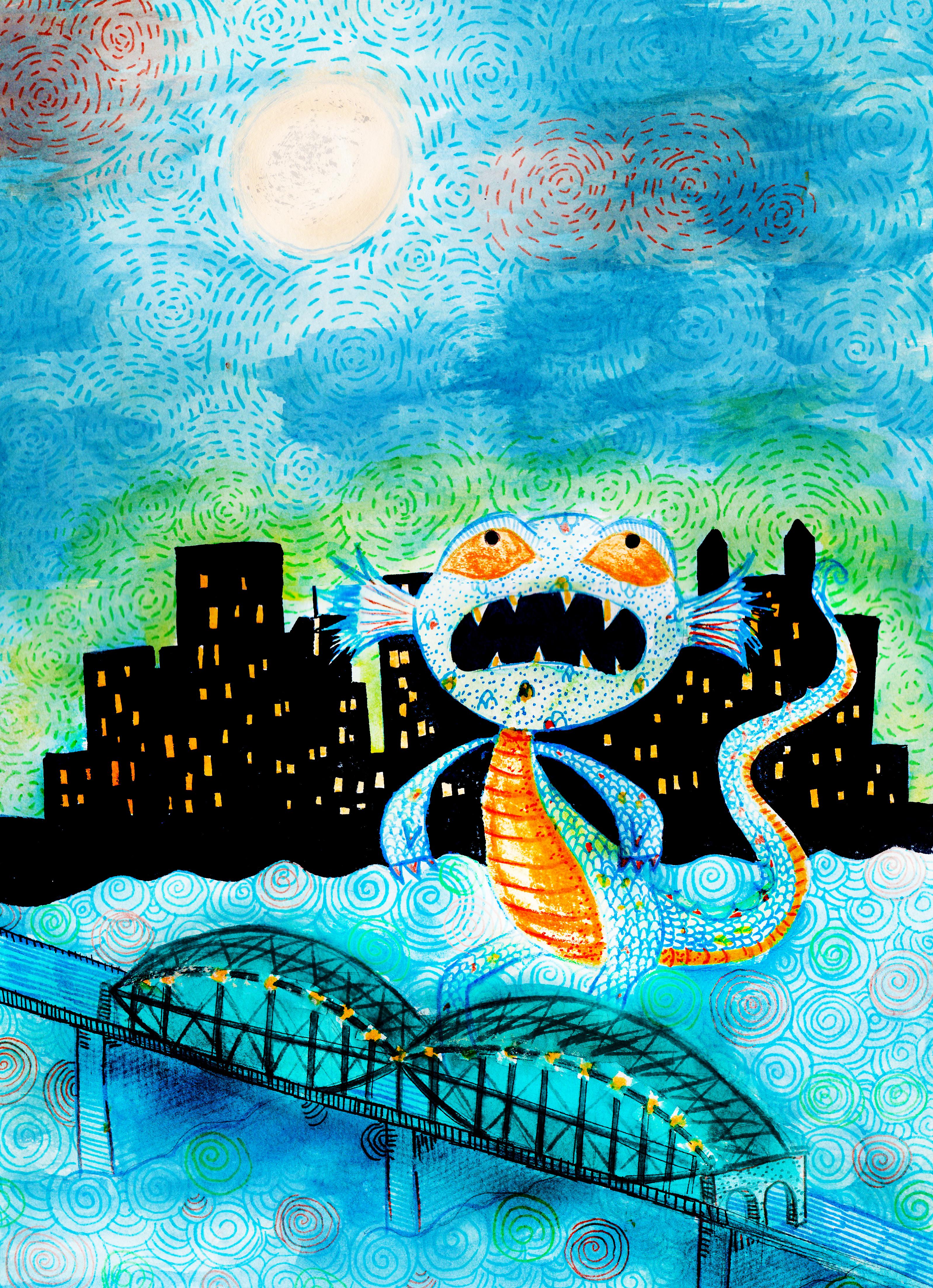 Monongahela River Monster