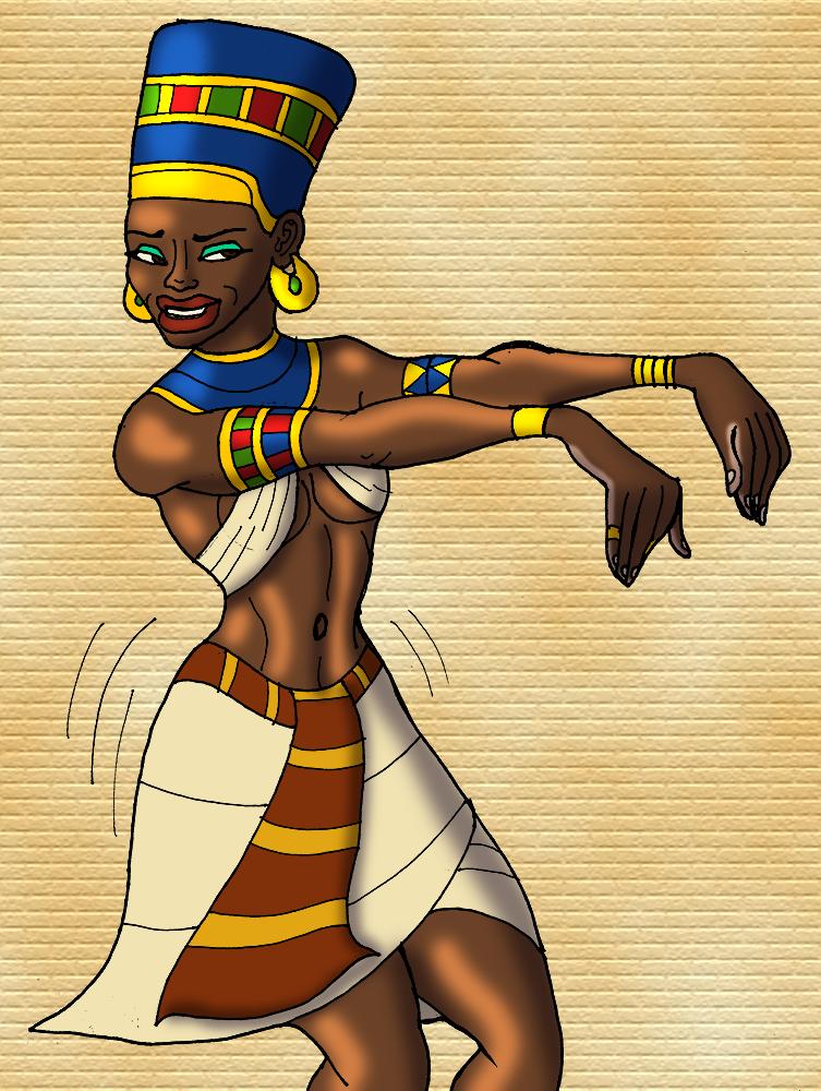 Nefertiti Shakes It
