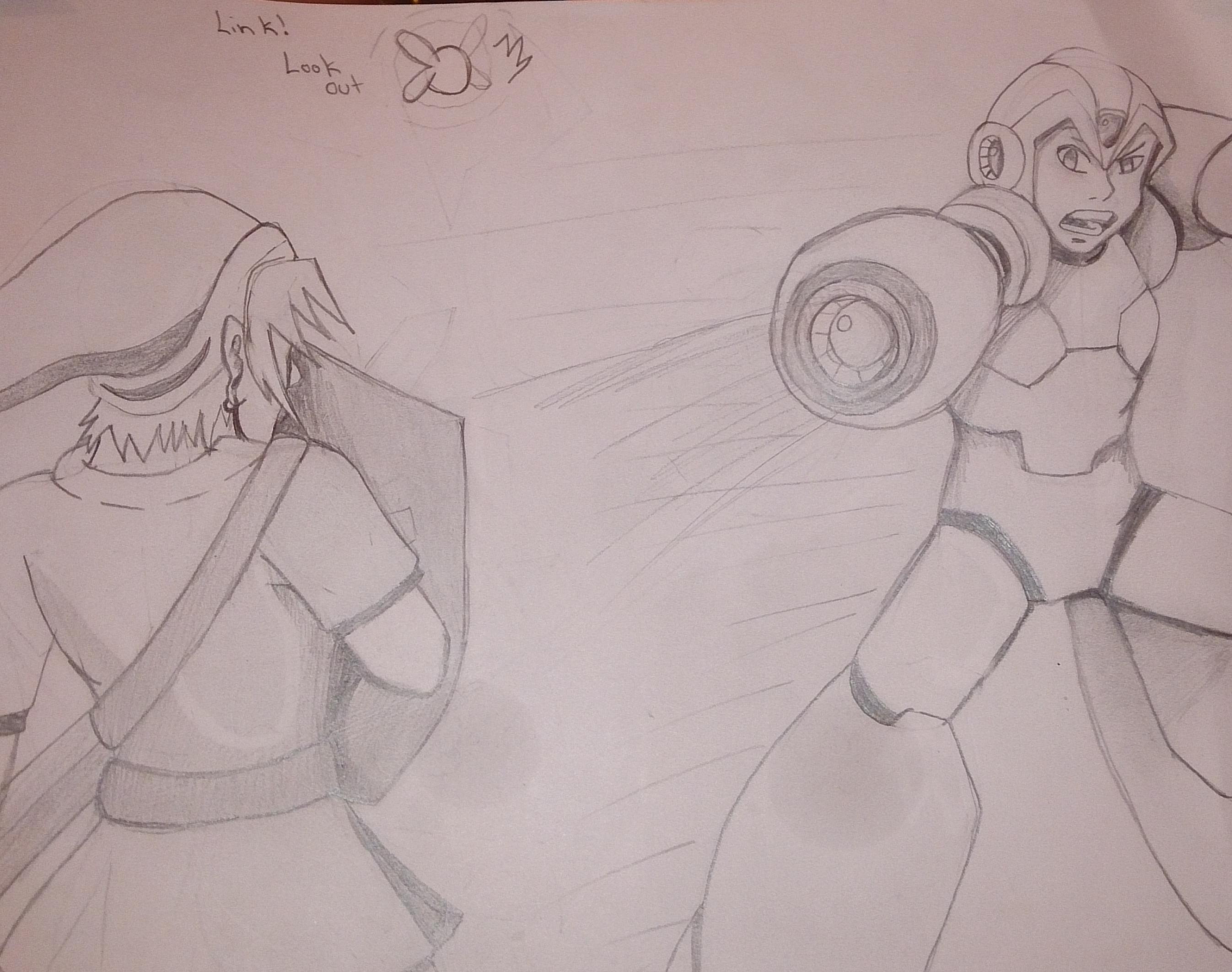 Link VS Megaman