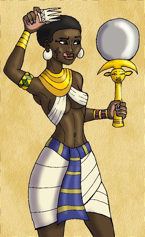 Pharaoh's Hair Maintenance