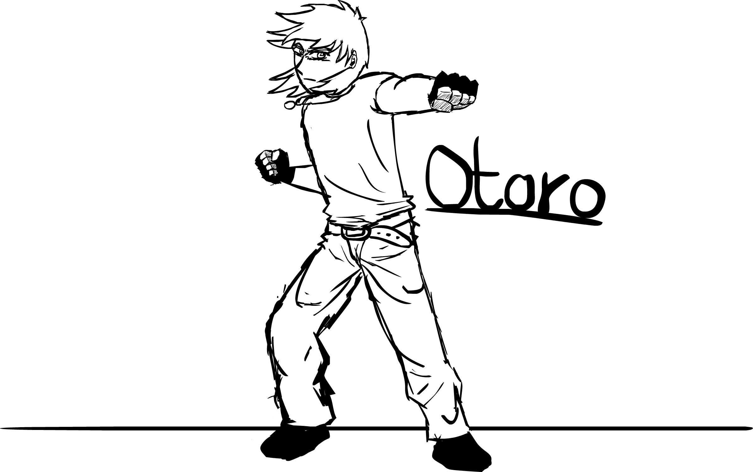Fighting Pose
