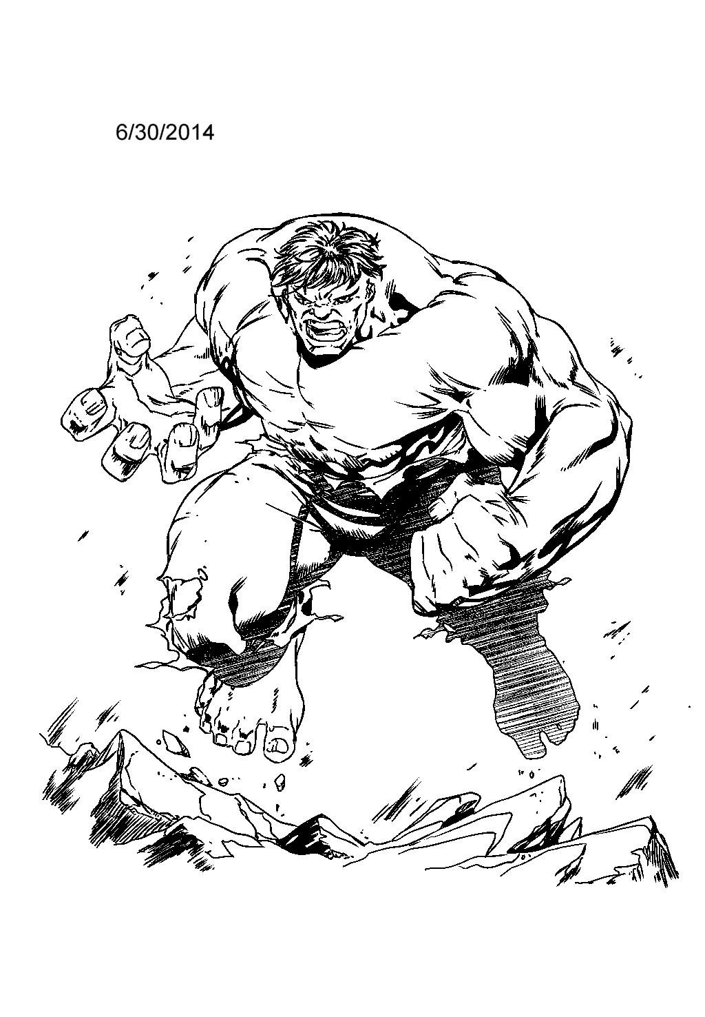 hulk ink