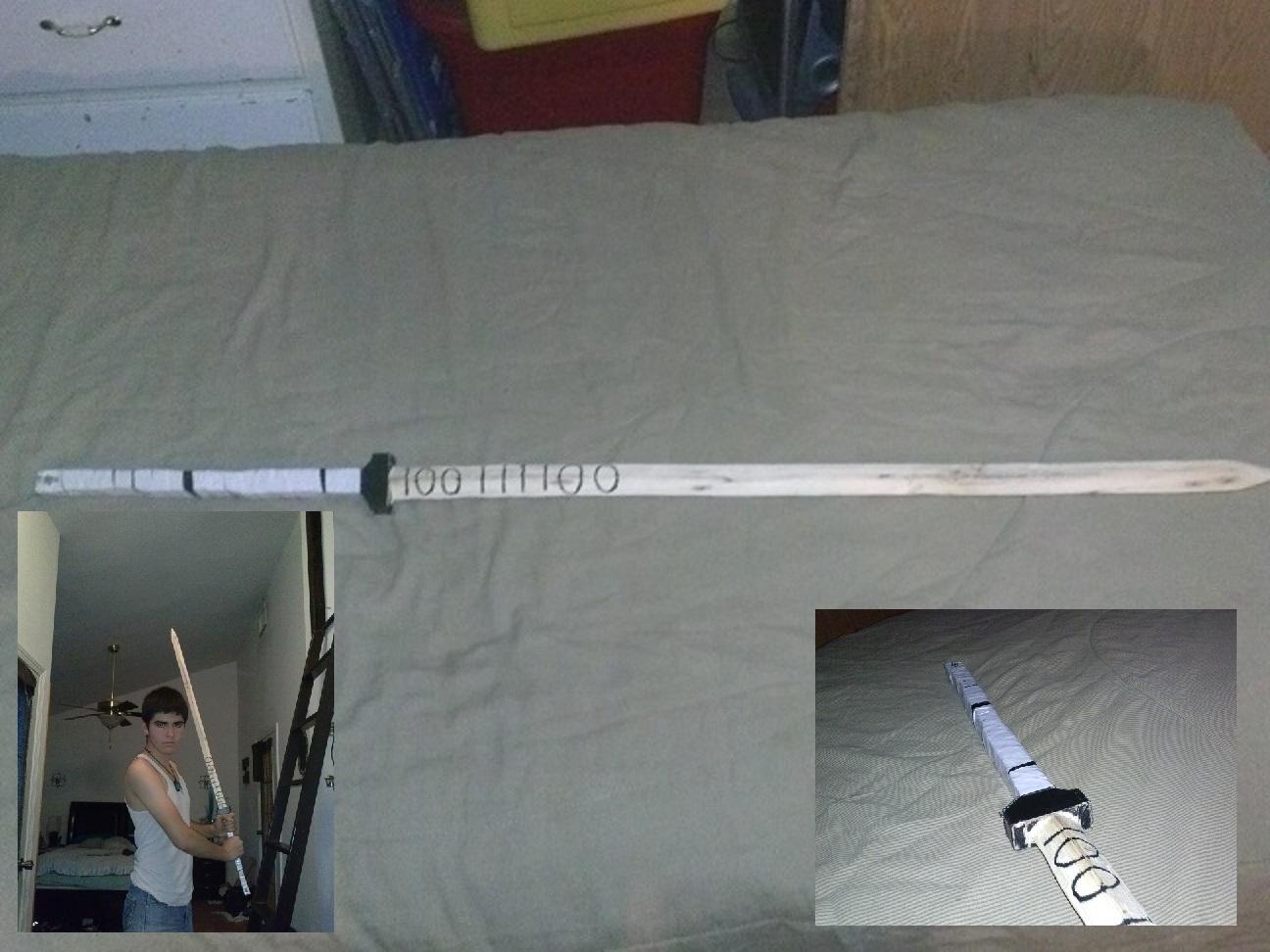 Wooden Binary Sword v2