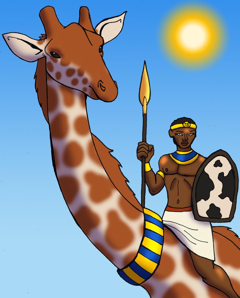 Egyptian Giraffe
