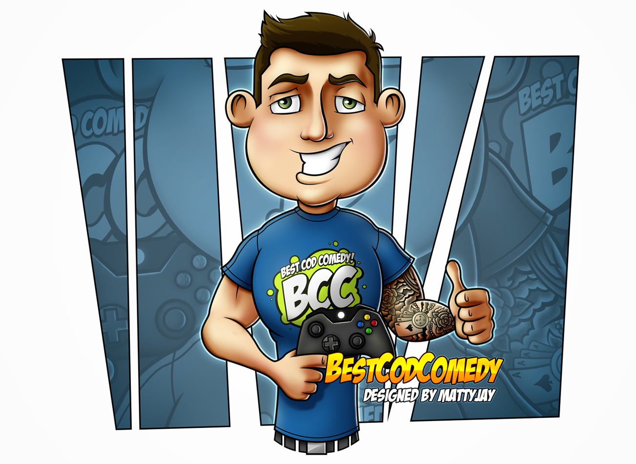 BCC Character Illustration