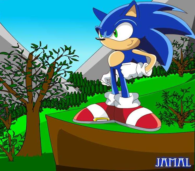 Sonic in the Mystic Ruins