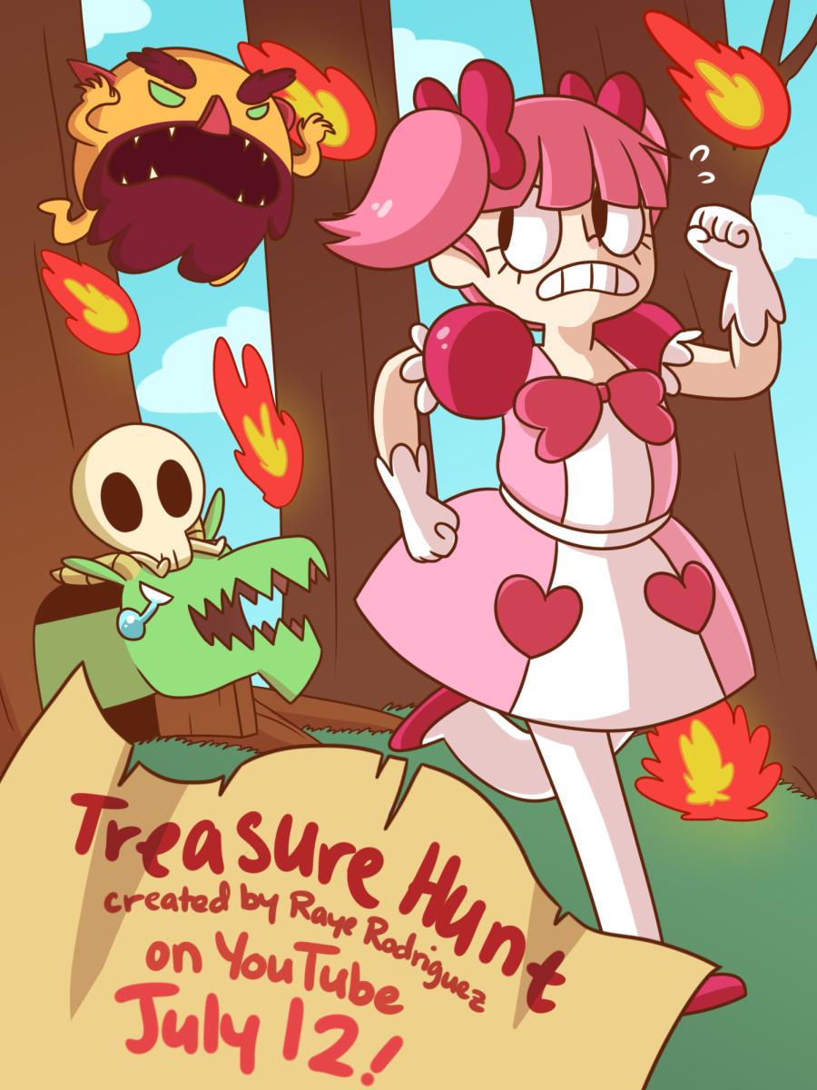 Treasure Hunt Poster
