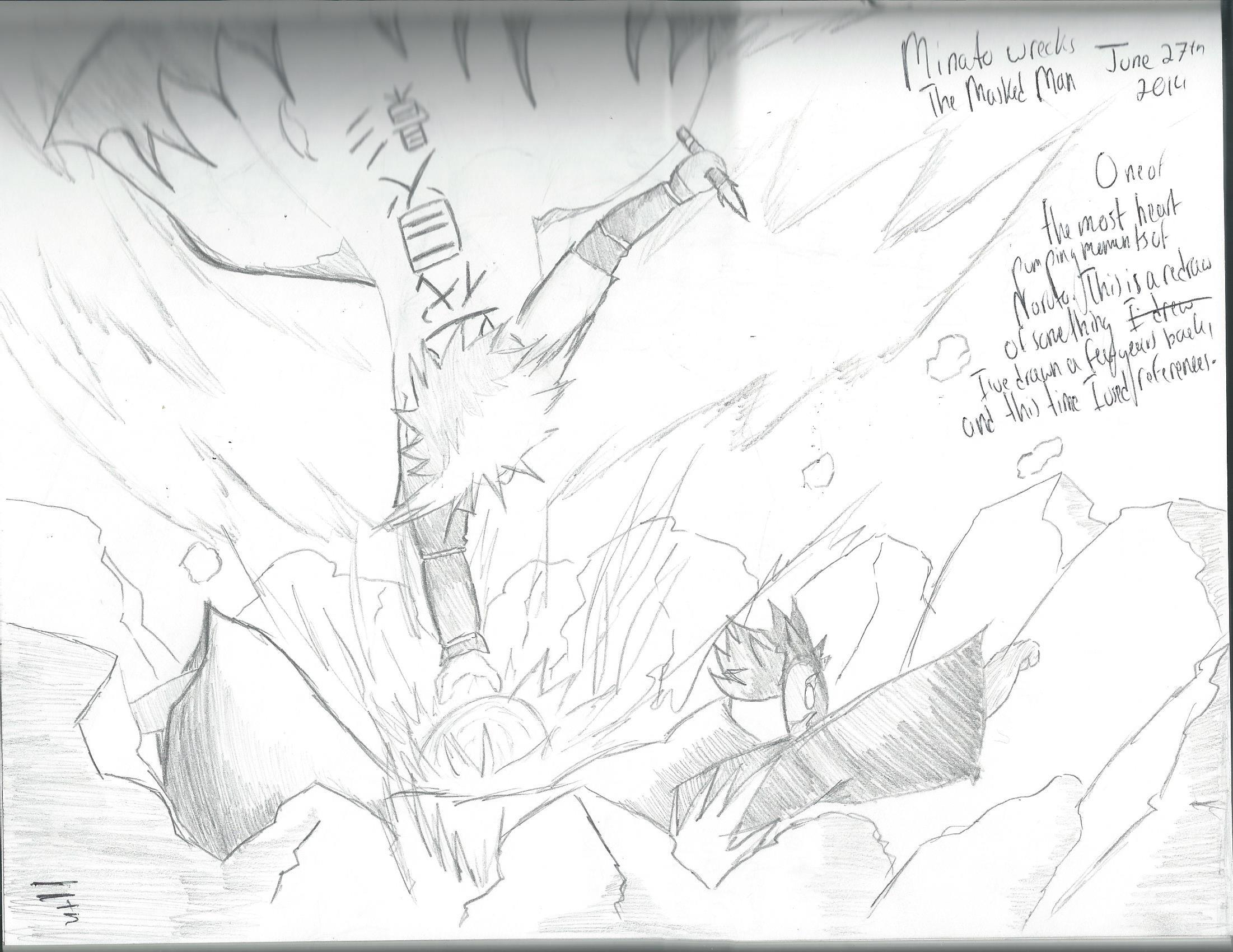Minato VS Tobi