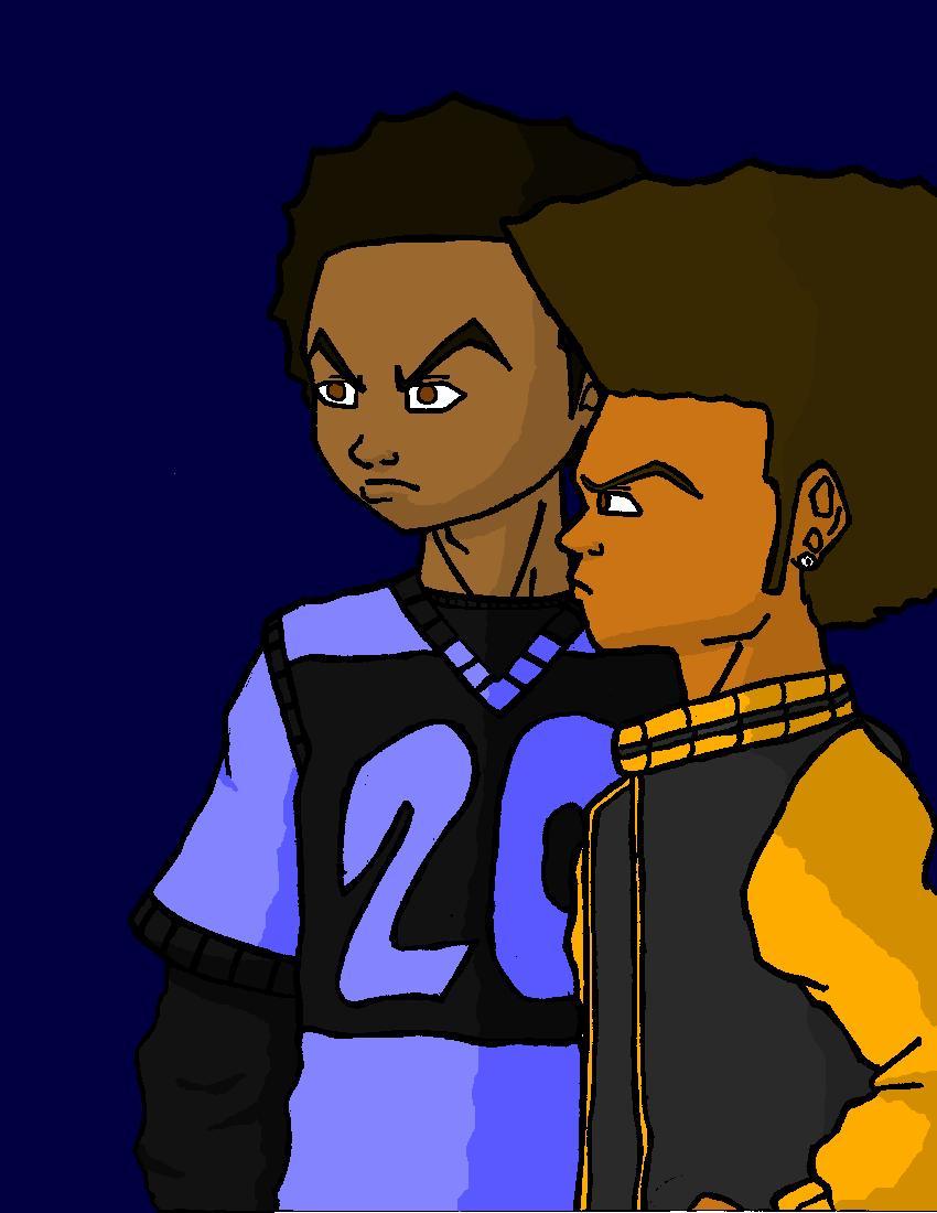 Ken and B.J. (alt colors)