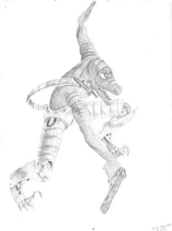 raptor guy