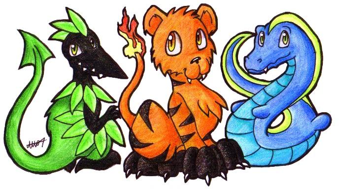 Original Starter Pokemon
