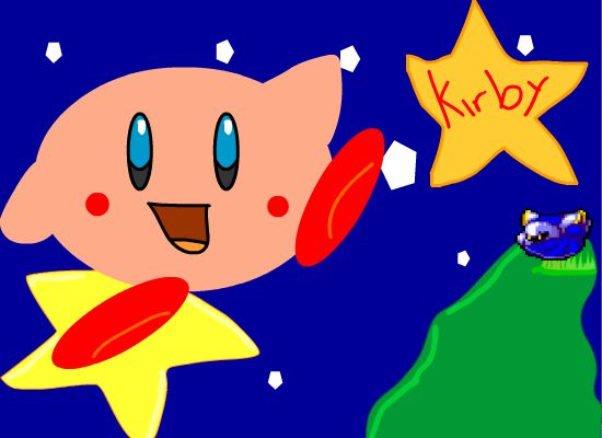 Kirby in dreamland