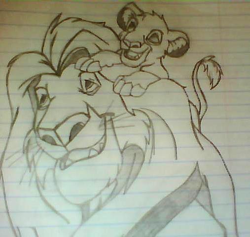 Simba and his father