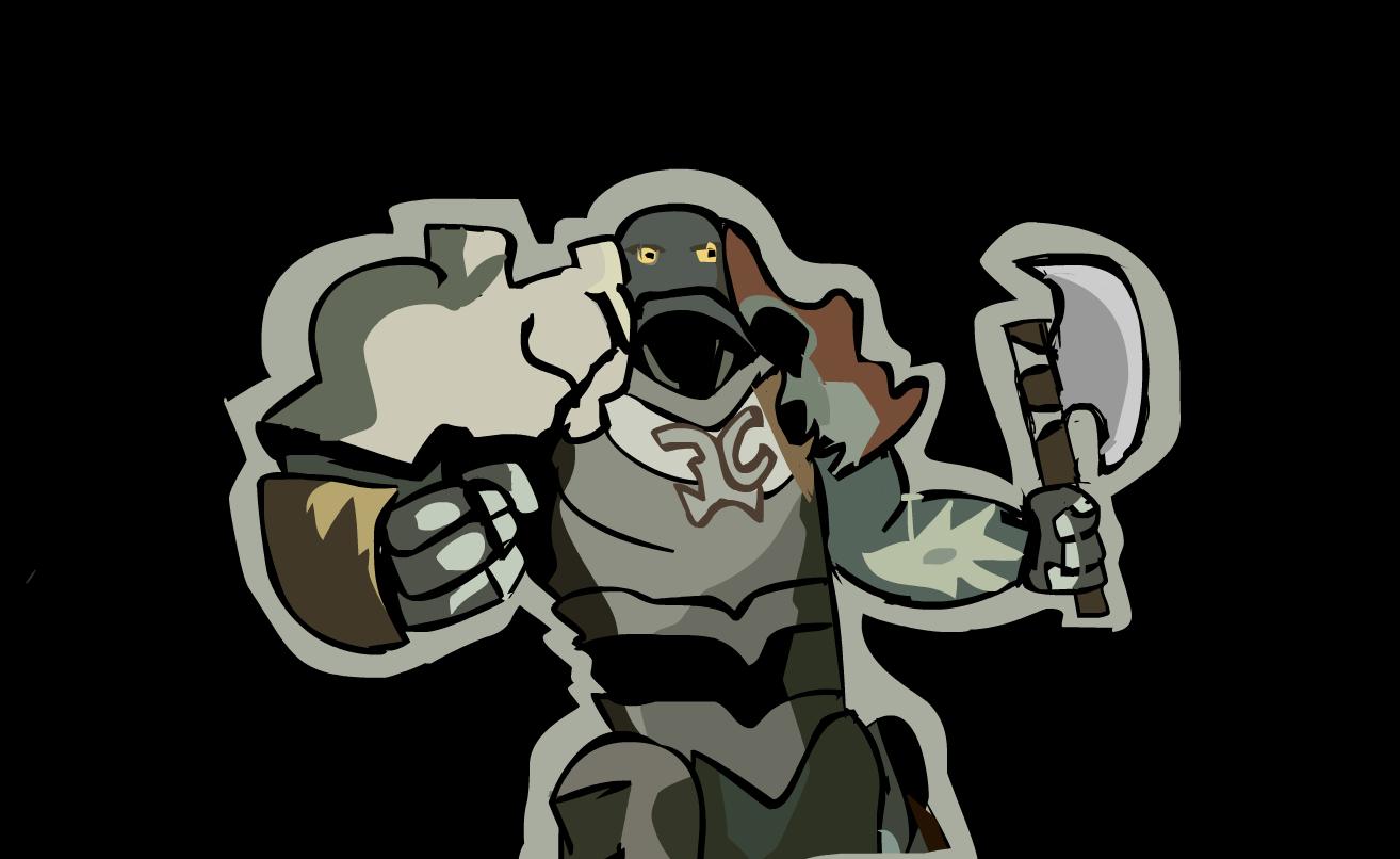 MTG Stone/Orc Warrior