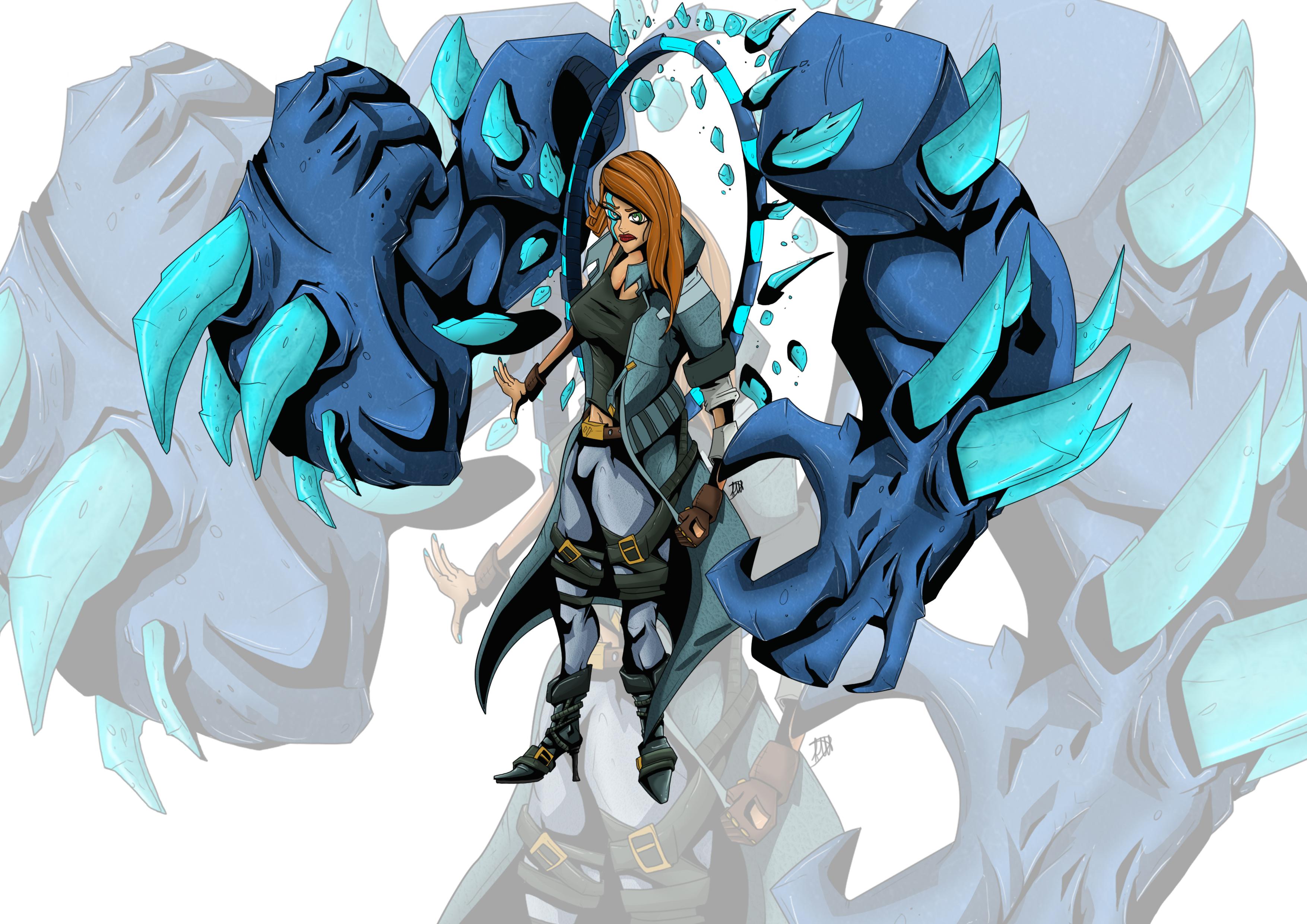 Lisanna the Fists summoner