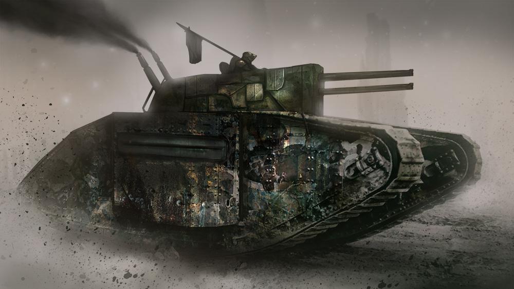 Double Barrel Steam Tank
