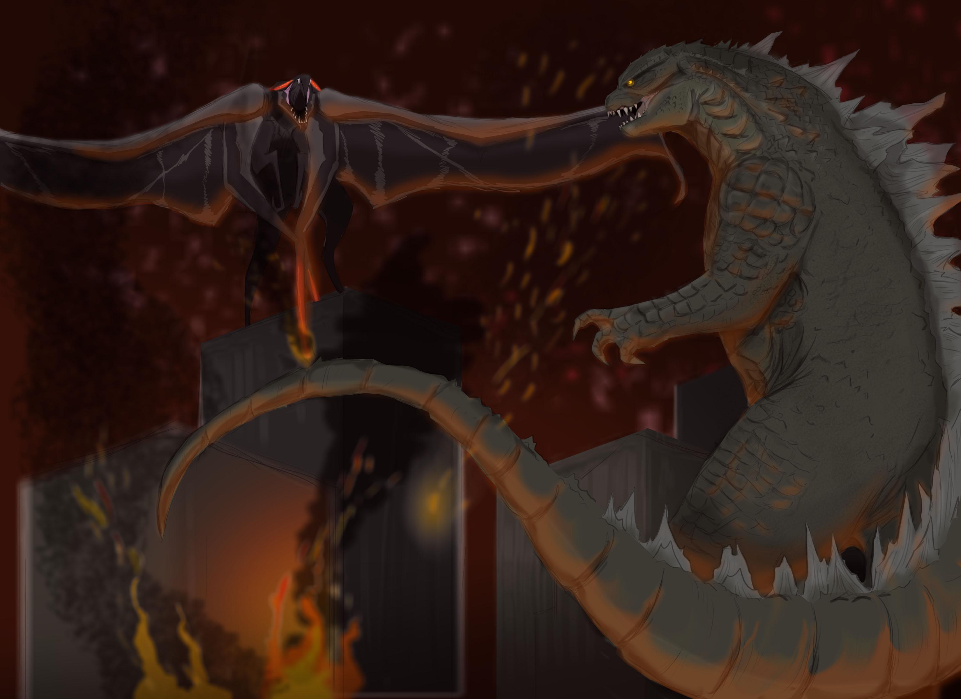 Godzilla vs Hokmuto!