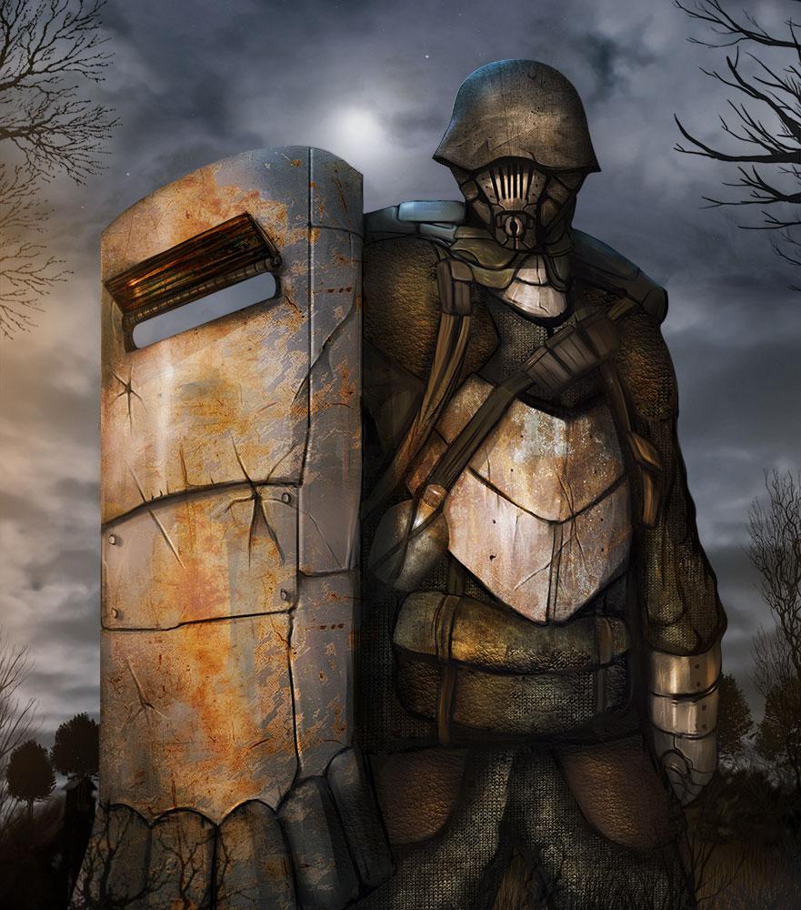 Riot Shield Grunt