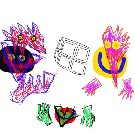 Faceless masks