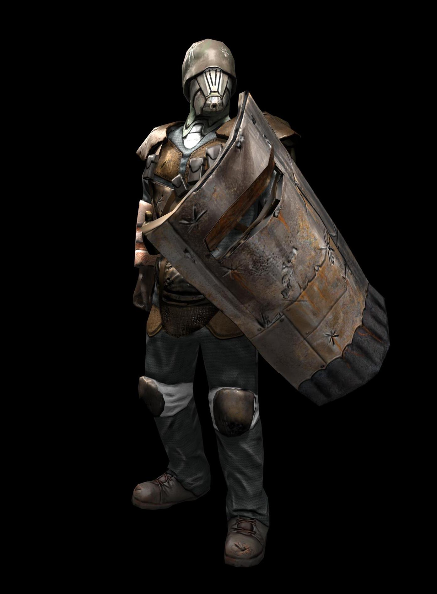 Riot Shield Grunt 3D