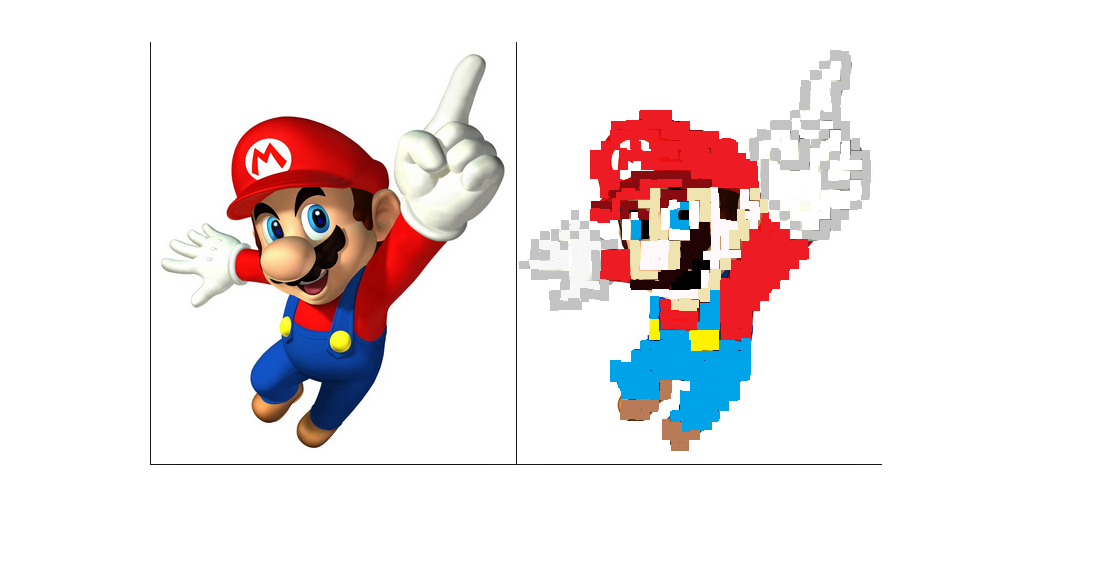 Pixelart Mario