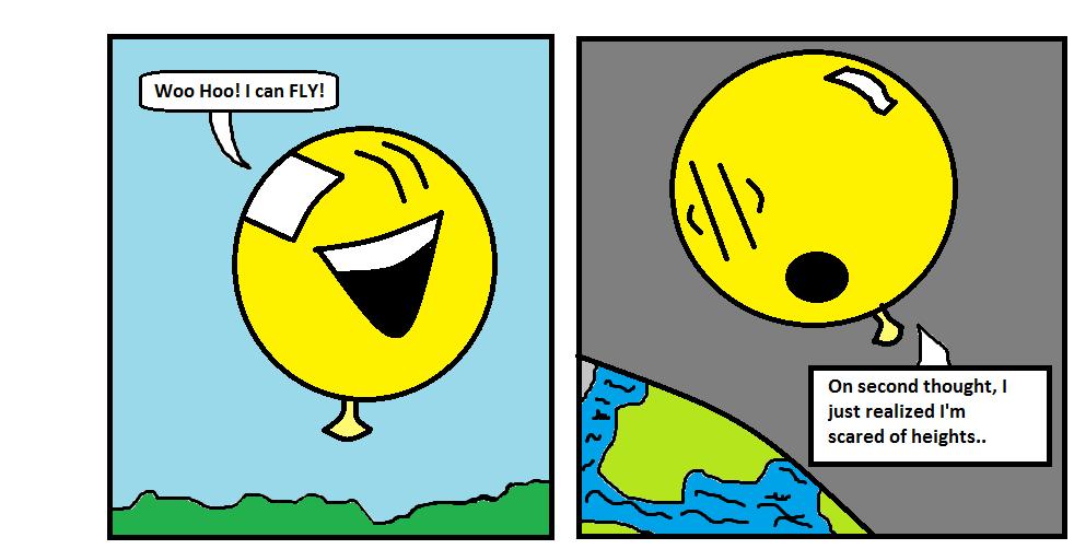 Fly Highing Balloon