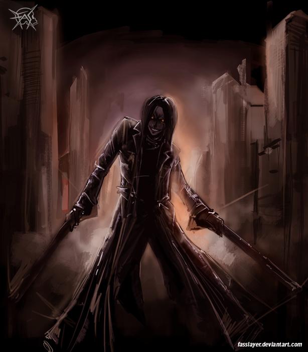 Hunter vampire
