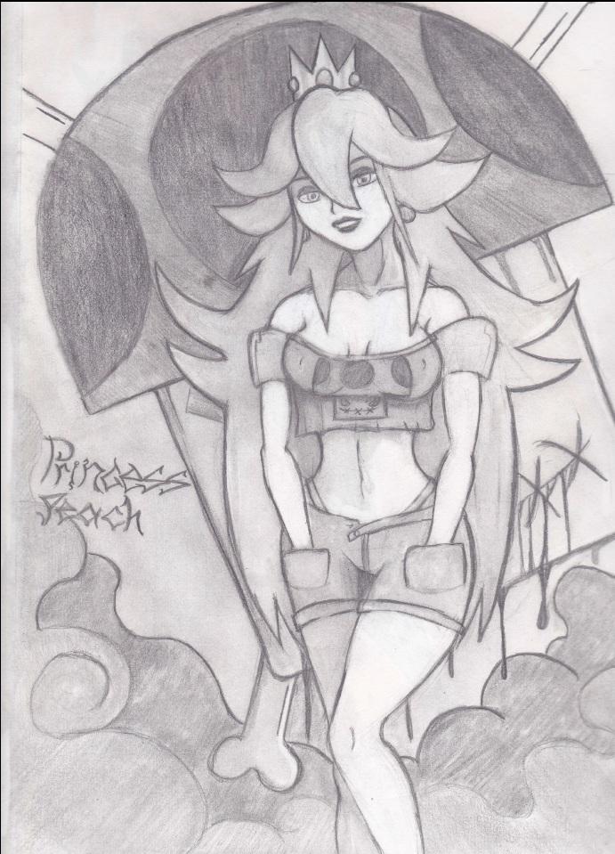 Princess Punk Peach