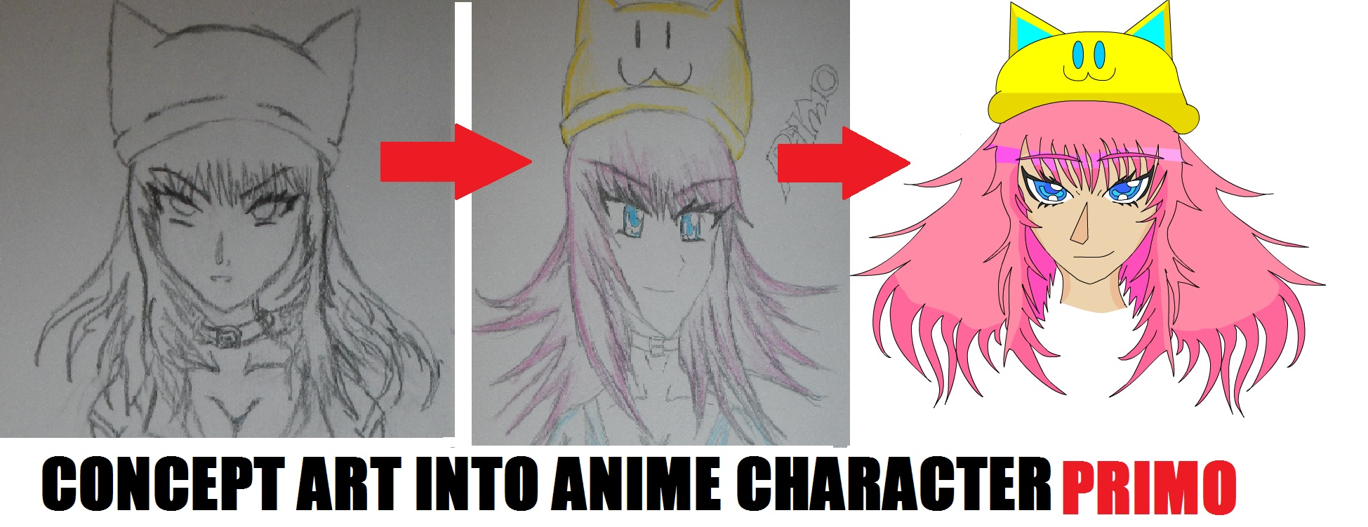 Concept to Anime Toon