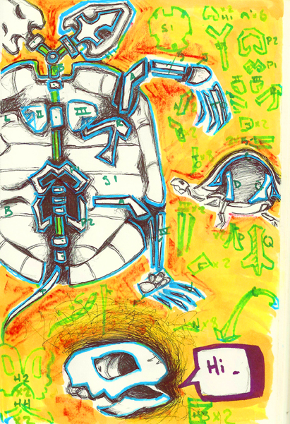 Anatomy of a Two Headed Turtle