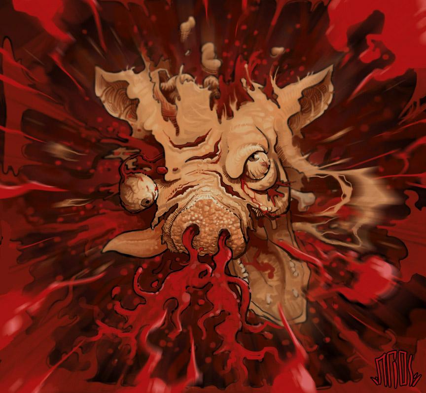 Pig Explodes