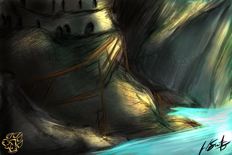 Cave Dwellings (Speedpaint)