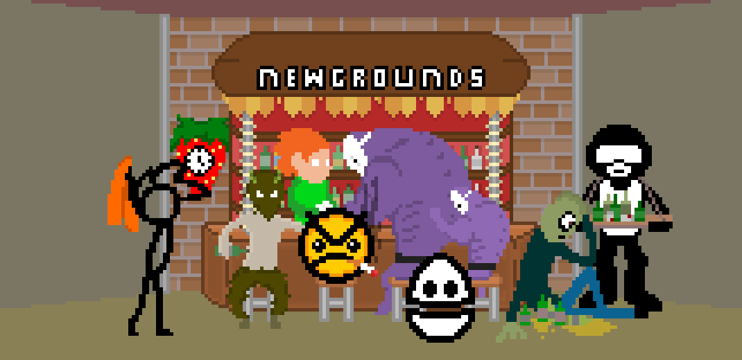 Newgrounds Bar