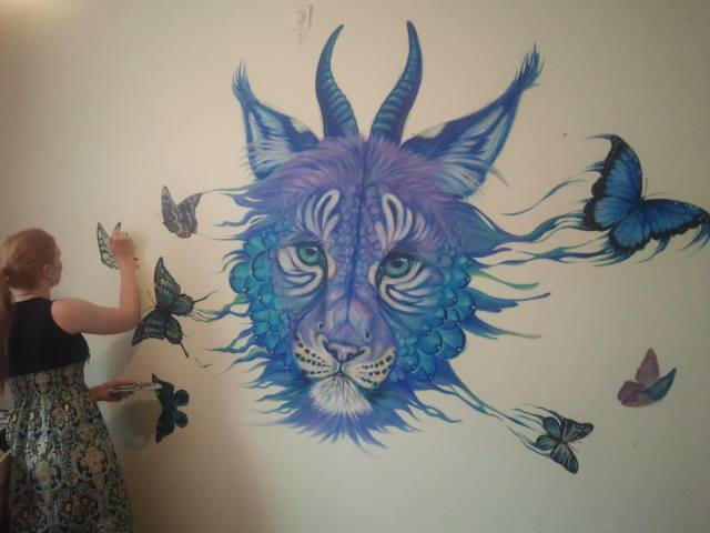 Mural painting WIP