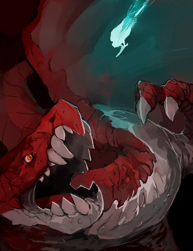 Dragon's fight