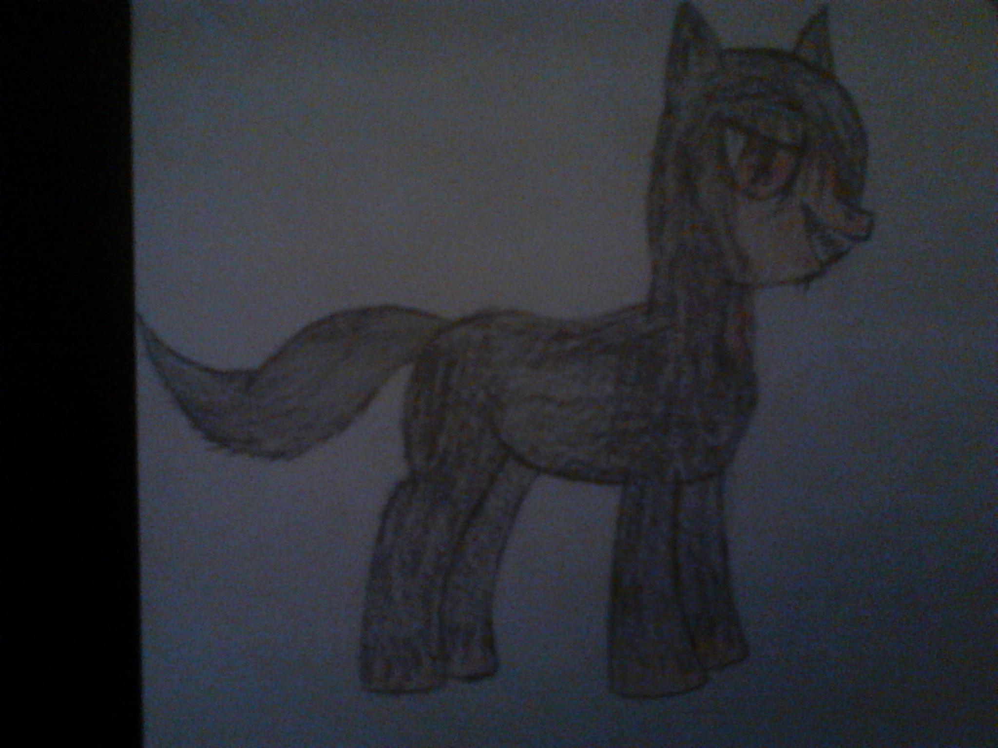 Darth Jamek as a Pony Side 2