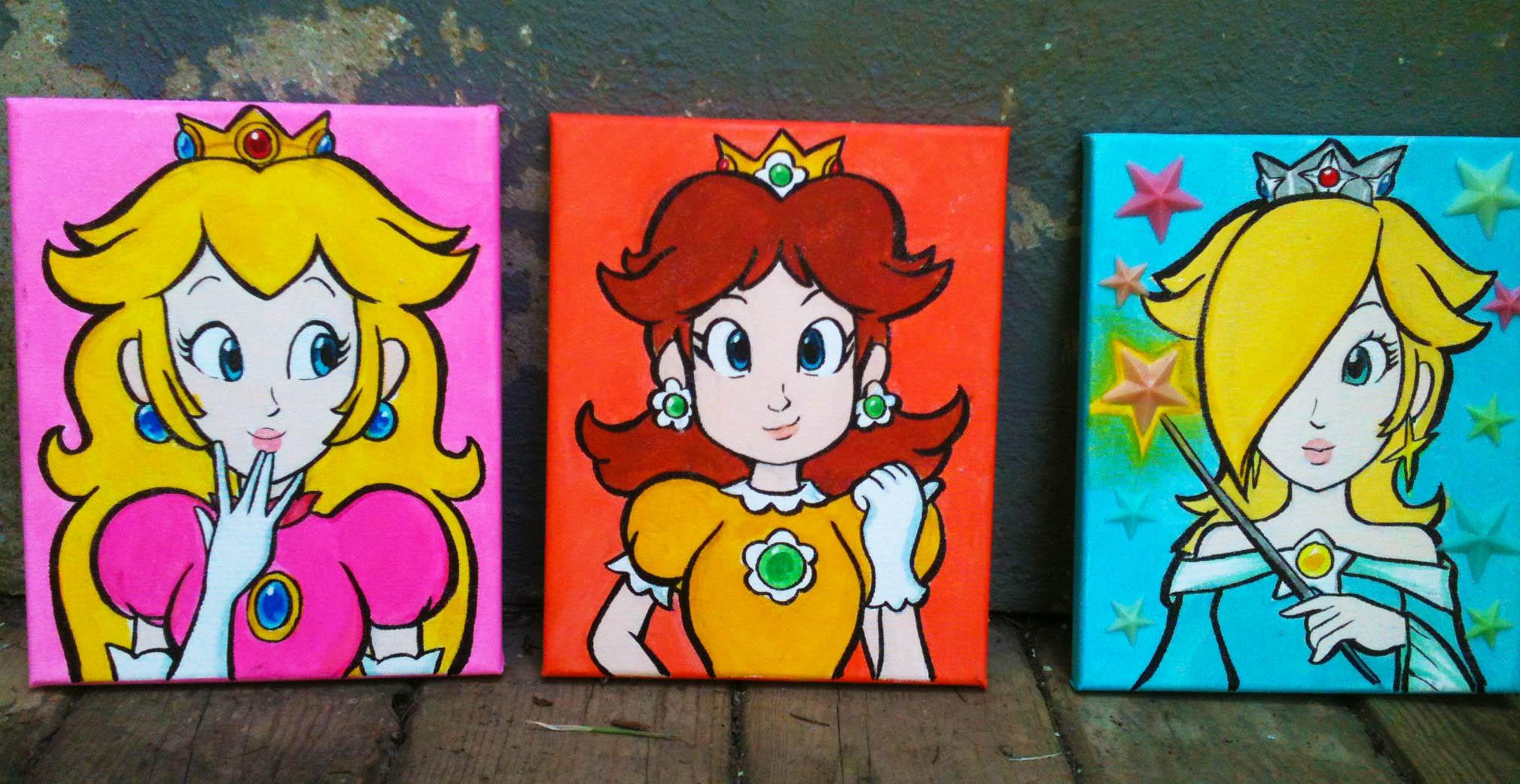 Princess Paintings!