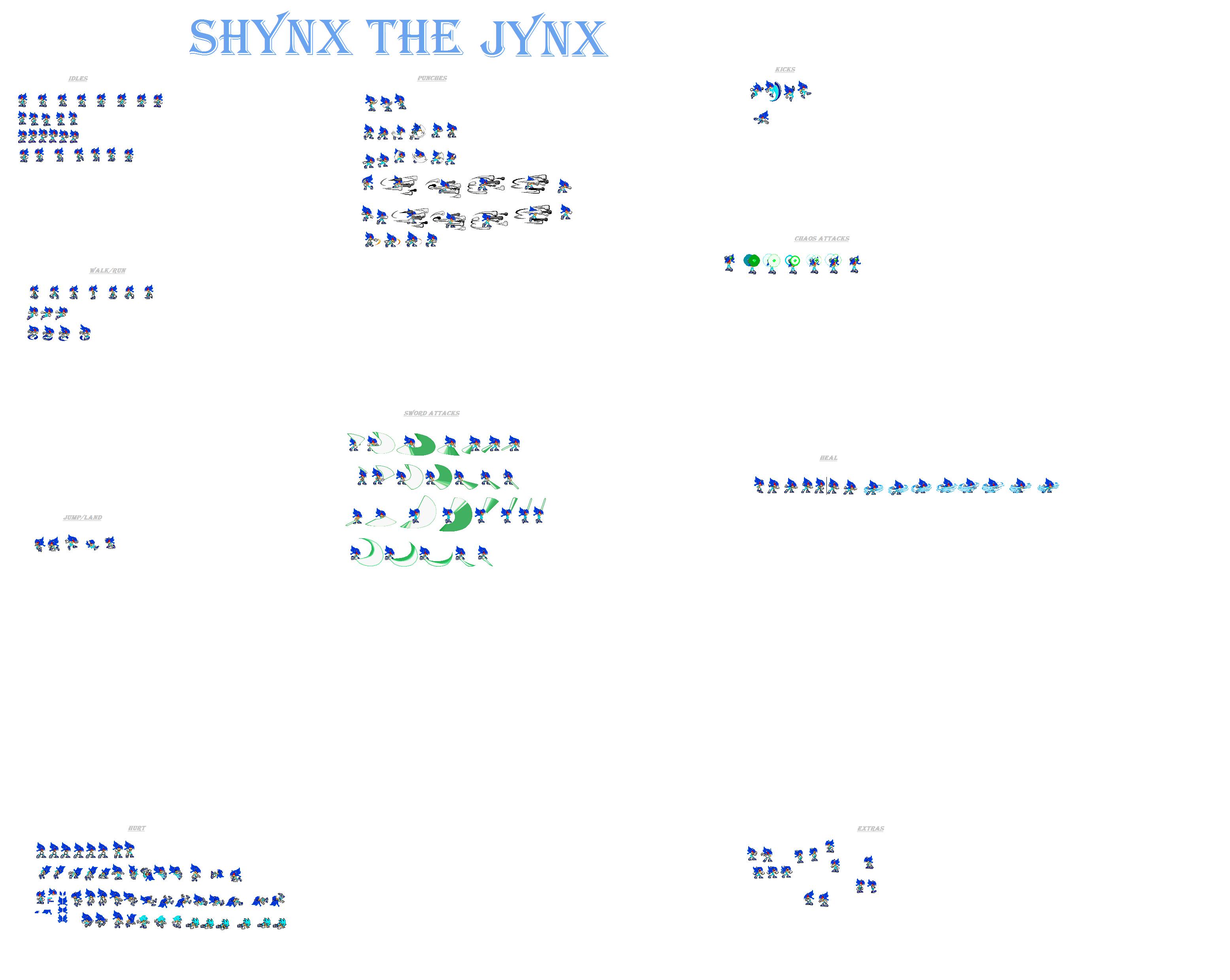 Shynx update