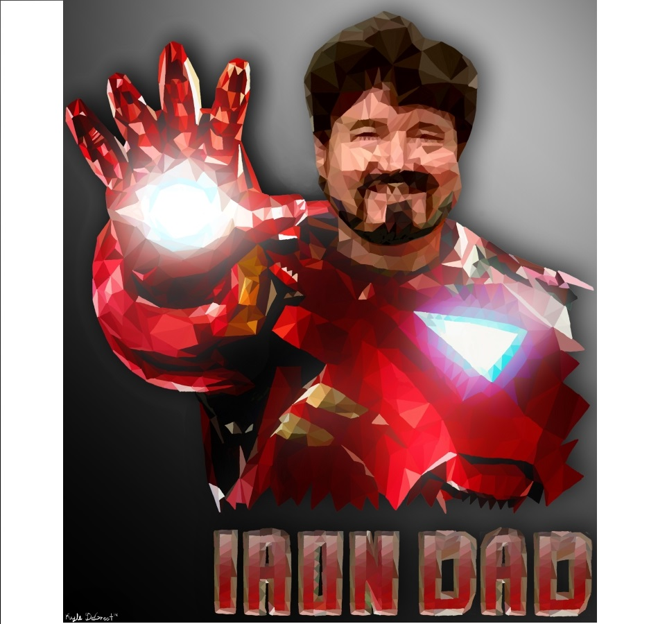 My Dad's Bday gift (Iron Dad)