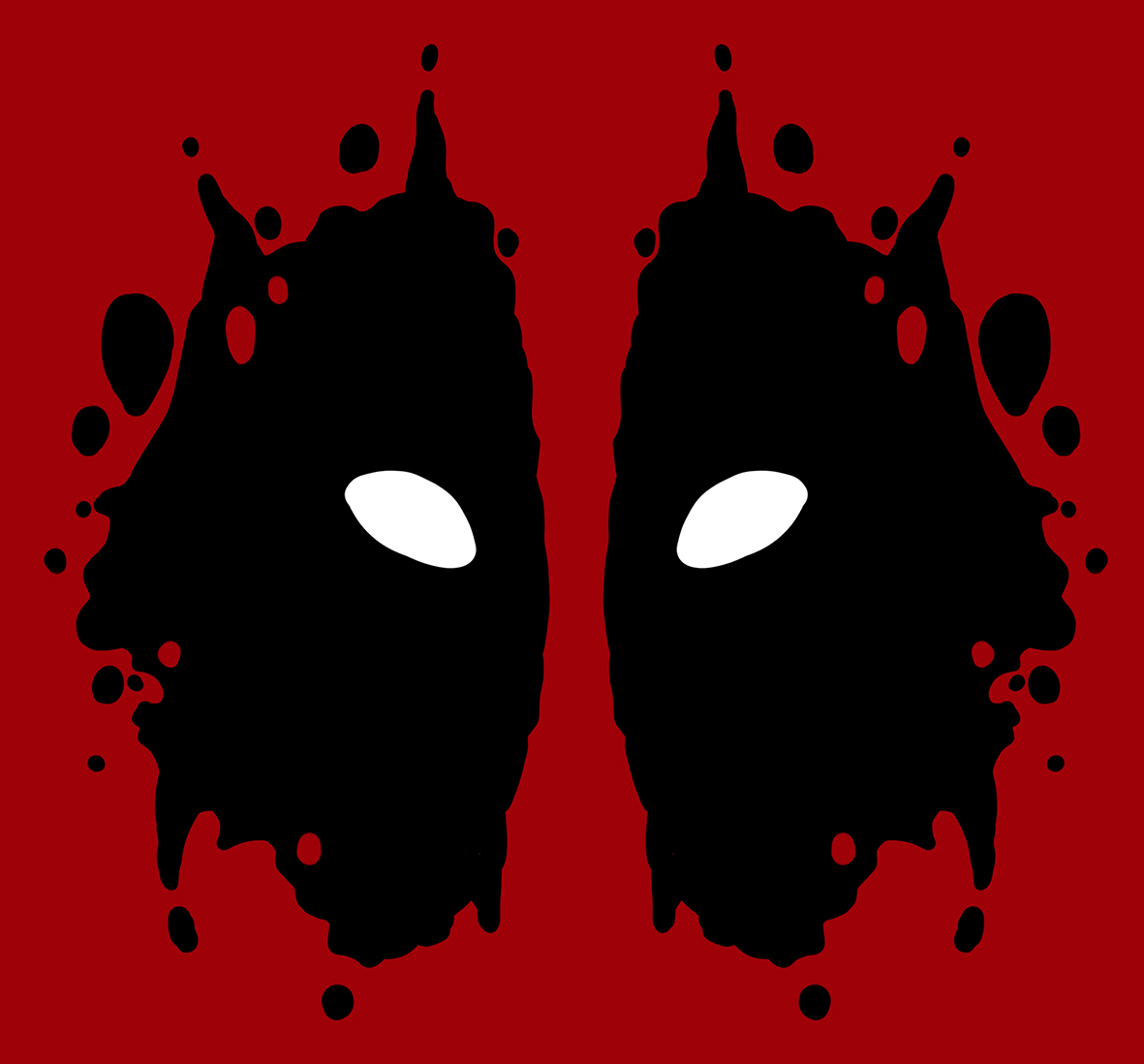 Deadpool Rorschach Test