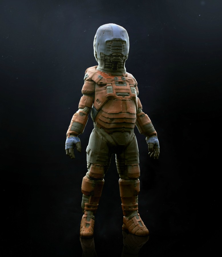 Alien space suit